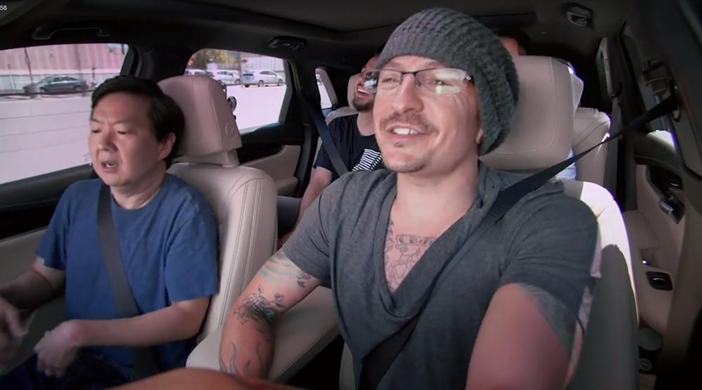 Честер Беннингтон в передаче Carpool Karaoke