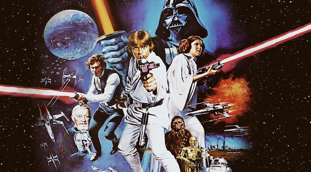 Постер фильма «Звездные войны: Эпизод IV - Новая надежда»