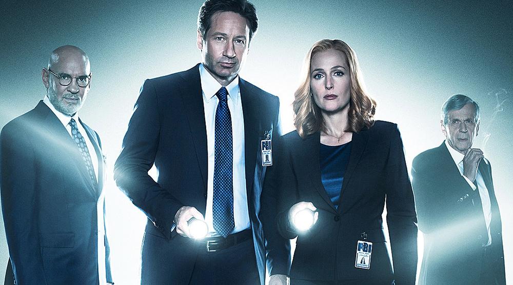 Постер 10 сезона сериала «Секретные материалы»