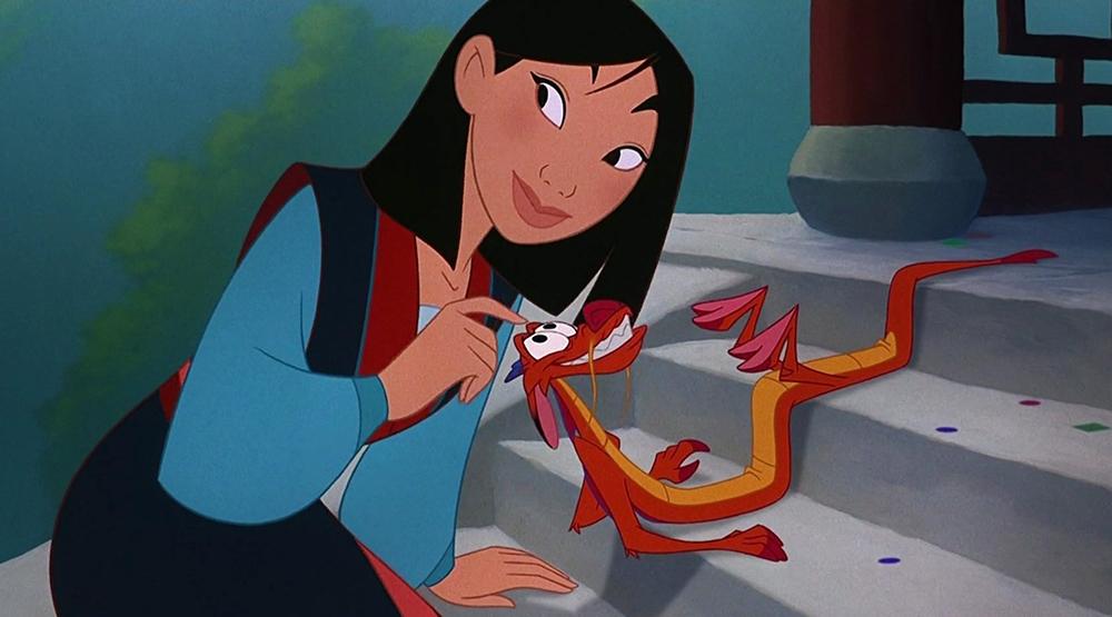 Кадр из мультфильма «Мулан» (1998)