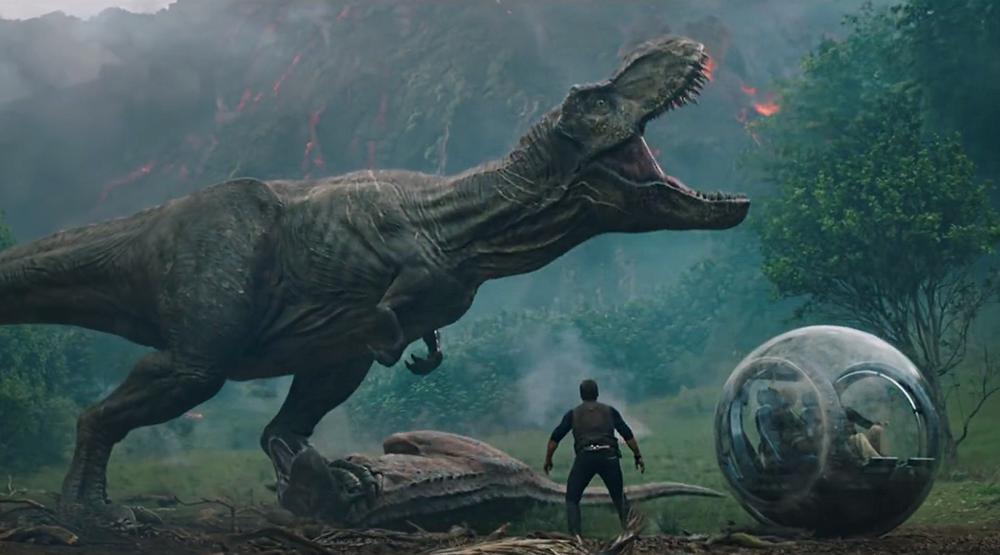 Кадр из фильма «Мир Юрского периода 2»