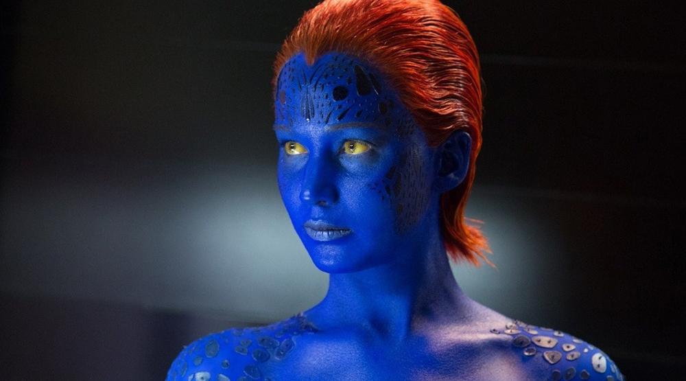 Дженнифер Лоуренс в образе Мистик