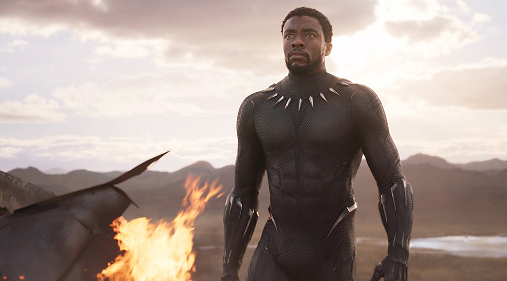Кадр из фильма «Черная пантера»