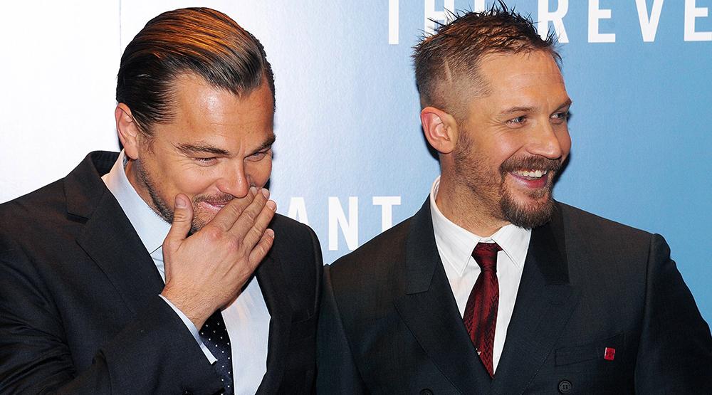 Леонардо ДиКаприо и Том Харди/ Фото с сайта newstut.ru