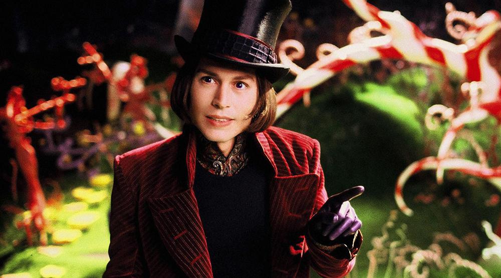 Кадр из фильма «Чарли и шоколадная фабрика» (2005)