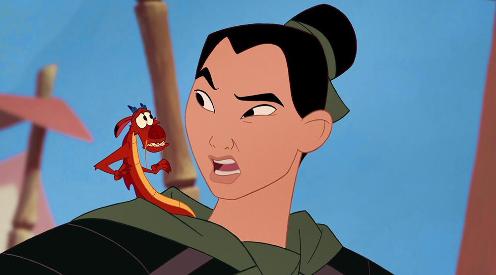 Кадр из мультфильма «Мулан»