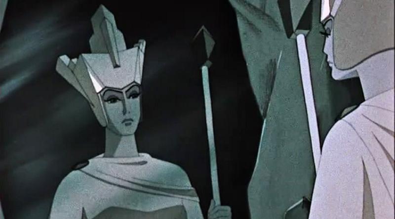 Кадр из мультфильма «Снежная королева» (1957)