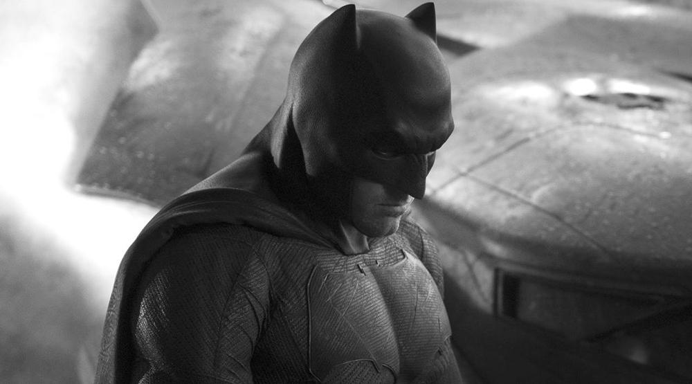 Бен Аффлек в костюме Бэтмена