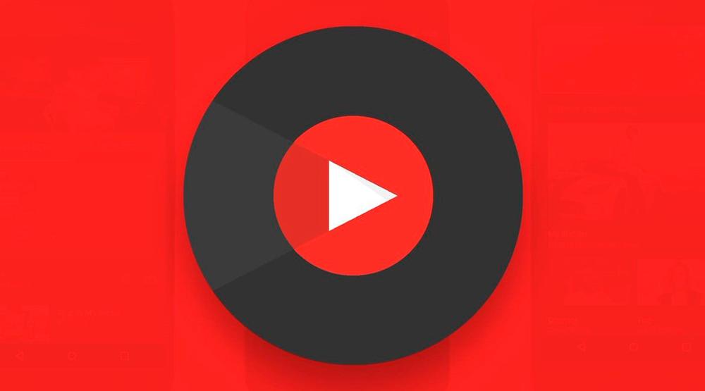 Лого YouTube Music