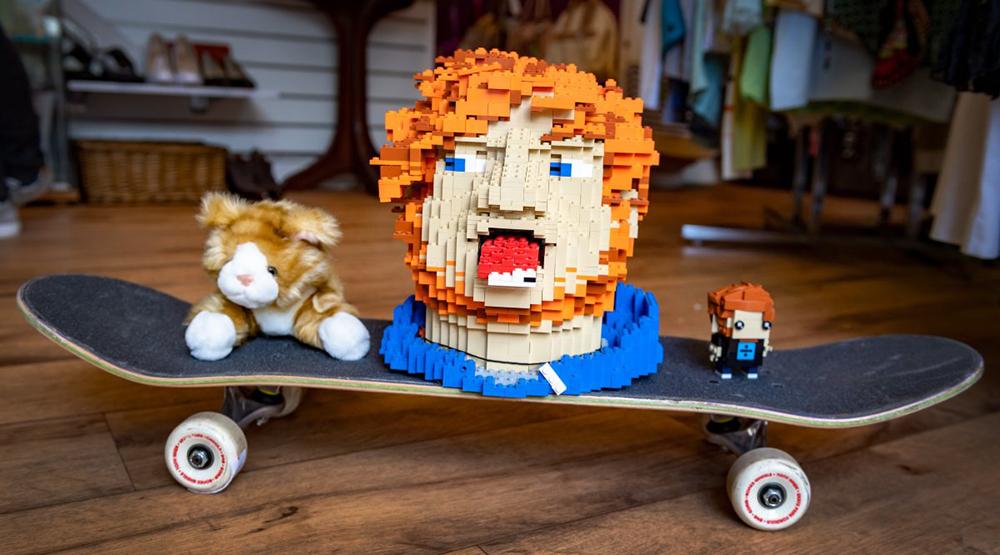 Lego-«голова» Эда Ширана