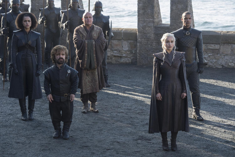 Размещены  первые кадры нового сезона «Игры престолов»