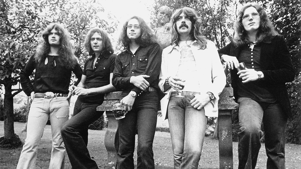 Deep Purple образца 1974 года: Гленн Хьюз, Ричи Блэкмор, Иен Пэйс, Джон Лорд и Дэвид Кавердэйл