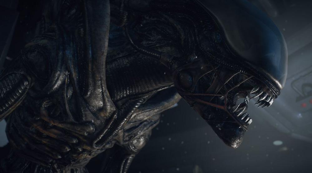 Кадр из игры Alien: Isolation