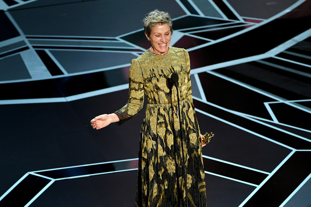 Картина «Форма воды» Гильермо дель Торо получила «Оскар» в категории  «Лучший фильм»