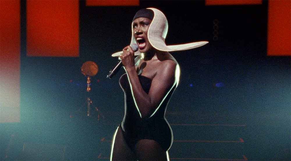 Кадр из фильма Grace Jones: Bloodlight and Bami/ © Grace Jones, Sligoville Limited, Blinder Films Limited, The British Film Institute, British Broadcasting Corporation