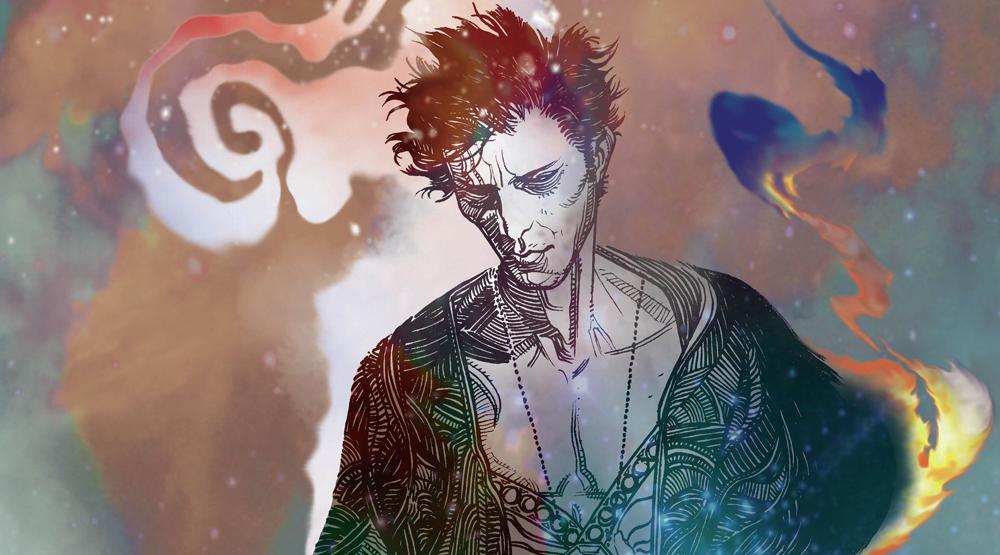Обложка комикса «Песочный человек»