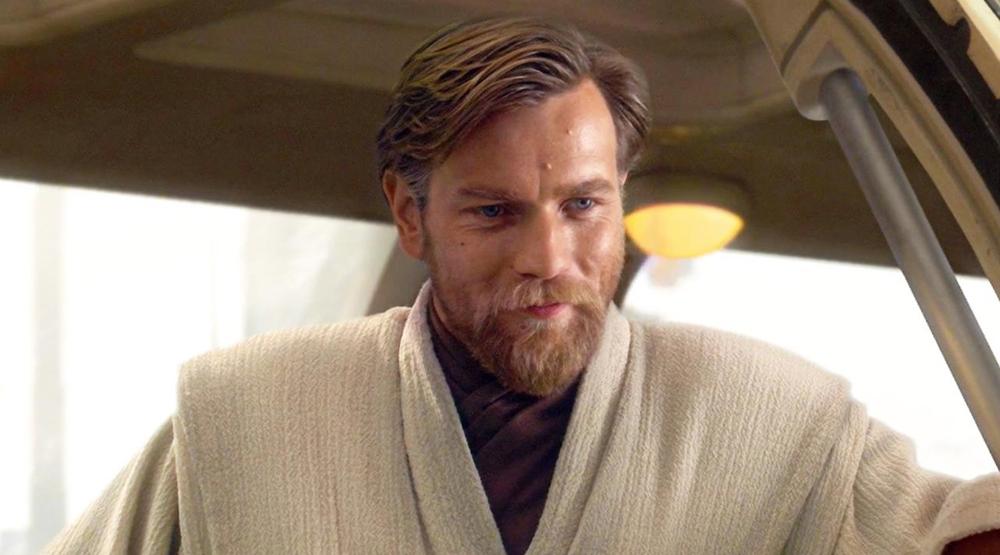 Юэн МакГрегор в образе Оби-Ван Кеноби