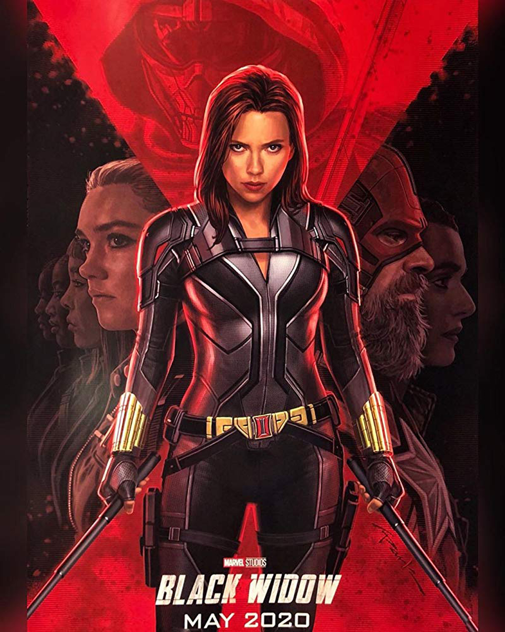 Промо-постер фильма «Черная вдова»