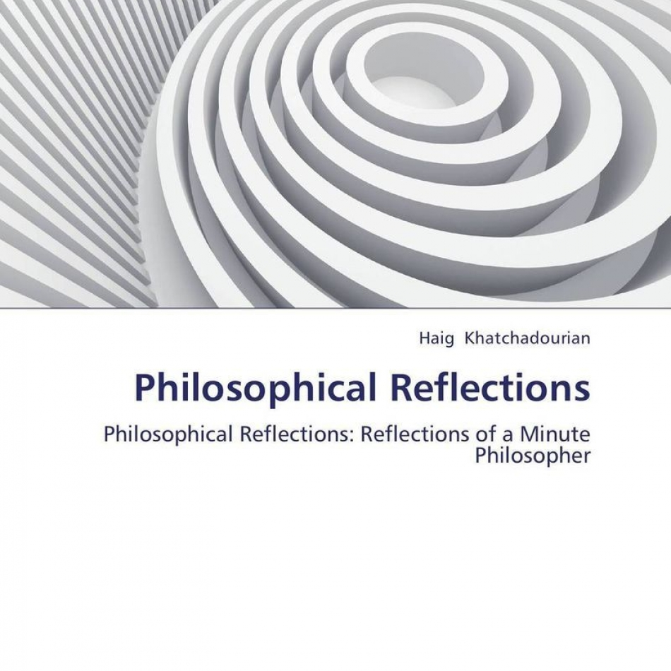 reflections of the philosophy of the