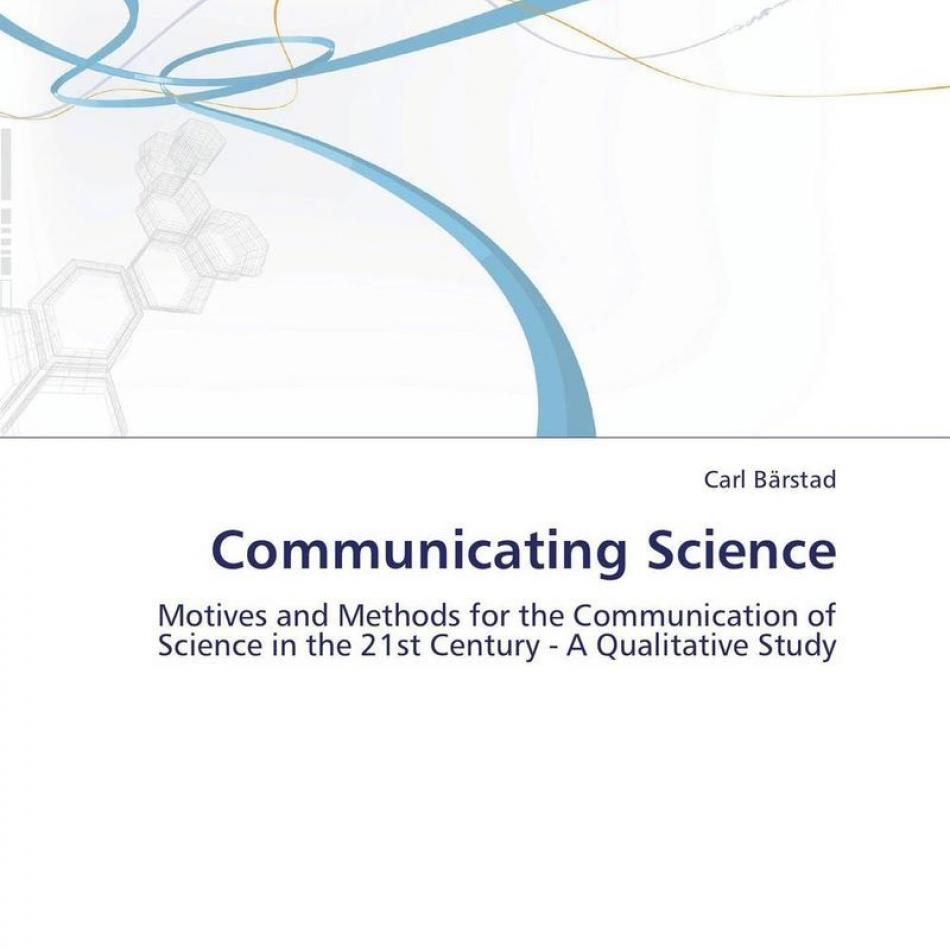 communication science Since its establishment in 1969, the department of communication science of the university of south africa has grown considerably and distinguished itself as a dynamic and credible leader in the field of communication science teaching.
