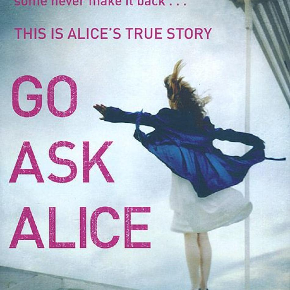 an analysis of alice in go ask alice by beatrice sparks Go ask alice by beatrice sparks setting the setting in this book i liked the most was the scene where alice and her friend chris run away to san francisco to start a new life on page 56 alice and chris sneak off in the middle of the night, alice doesn't write a date, however she tells us the bus she is taking is leaving at 4:30 am.