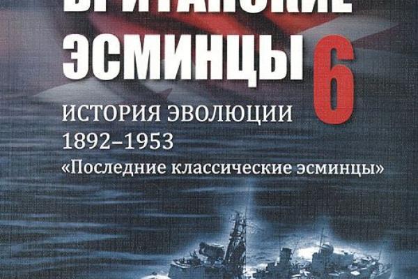 БРИТАНСКИЕ ЭСМИНЦЫ ИСТОРИЯ ЭВОЛЮЦИИ 1892 1953 ЧАСТЬ 4 СКАЧАТЬ БЕСПЛАТНО
