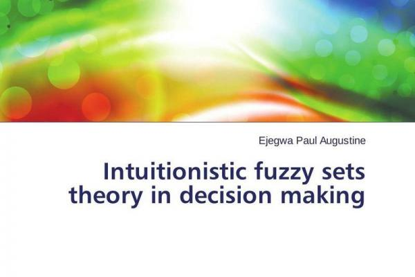 thesis on intuitionistic fuzzy databases Published paper titled rough intuitionistic fuzzy sets in the proceedings of 8th international conference on fuzzy theory and technology (ft & t), part of 6th joint conference on information sciences, held in durham, nc, 2002.