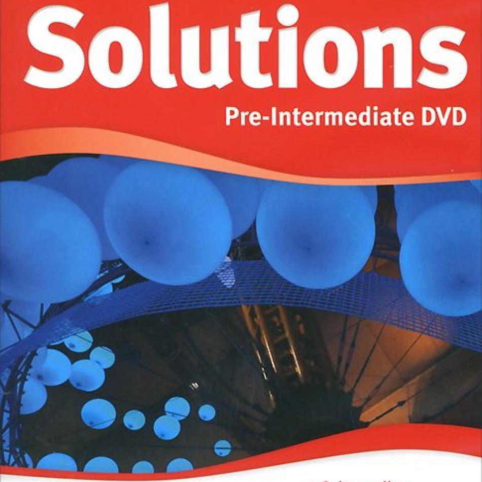 Гдз По Английскому Solutions Pre-intermediate Workbook 2nd Edition
