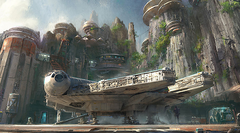 Проект парка Star Wars Land