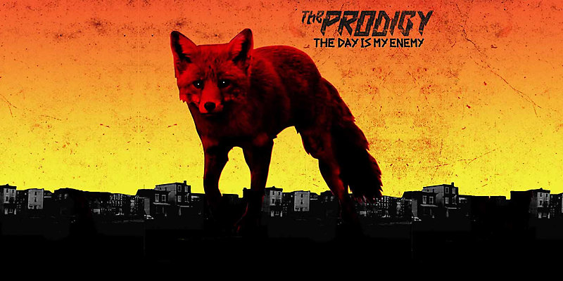 "Фрагмент обложки альбома The Prodigy ""The Day Is My Enemy"""