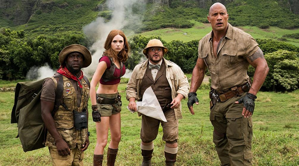 Jumanji Welcome to the Jungle (2017) Full Movie Watch