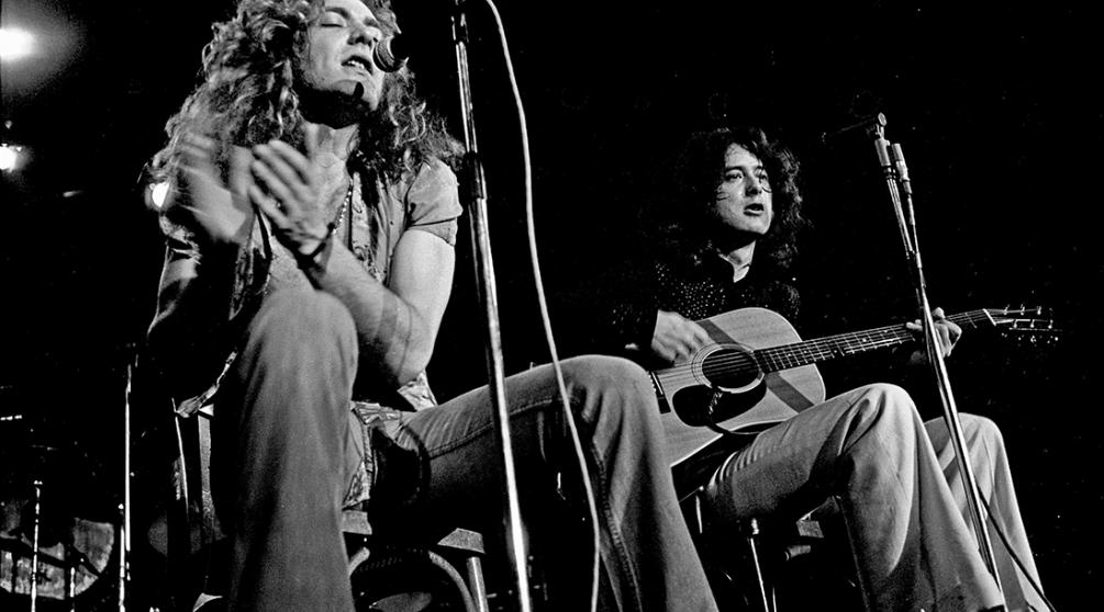 Концерт Led Zeppelin в Гамбурге, 1973 год/ Фото: Heinrich Klaffs, www.hklaffs.de