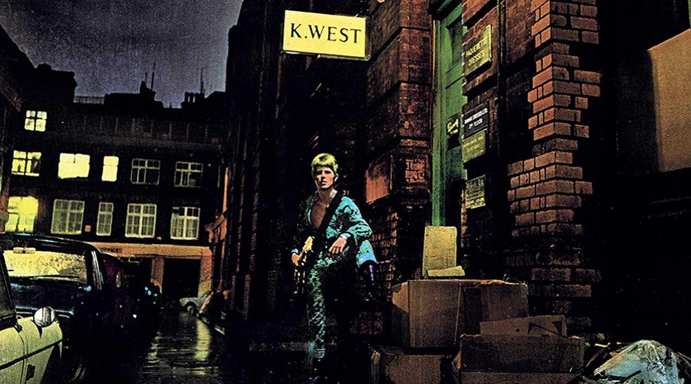 Обложка альбома «The Rise and Fall of Ziggy Stardust and the Spiders from Mars»