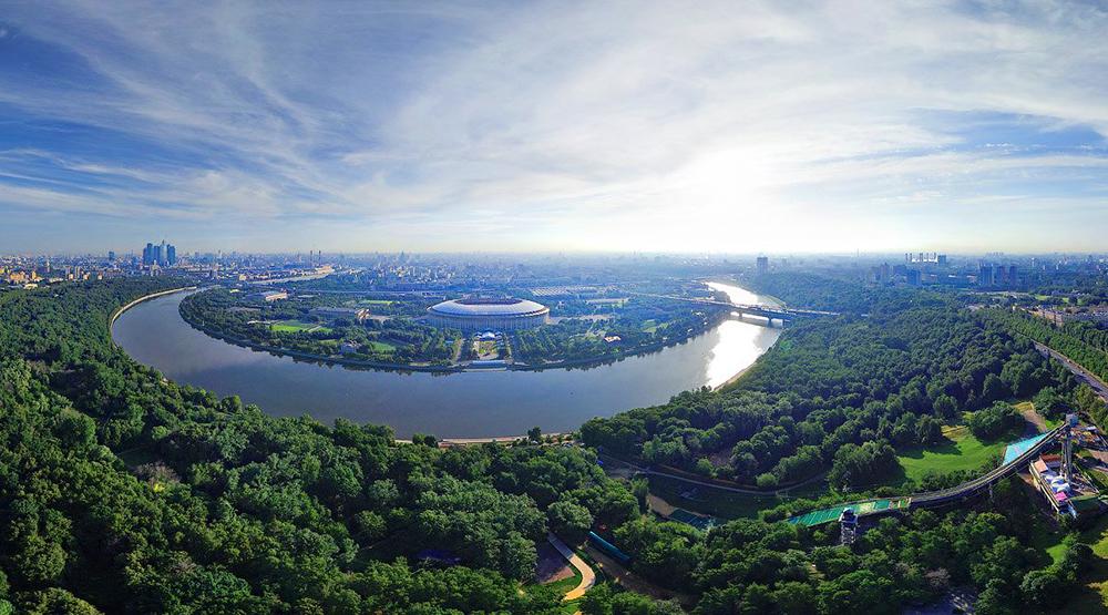 Парк «Воробьевы горы»/ Фото mos-holidays.ru