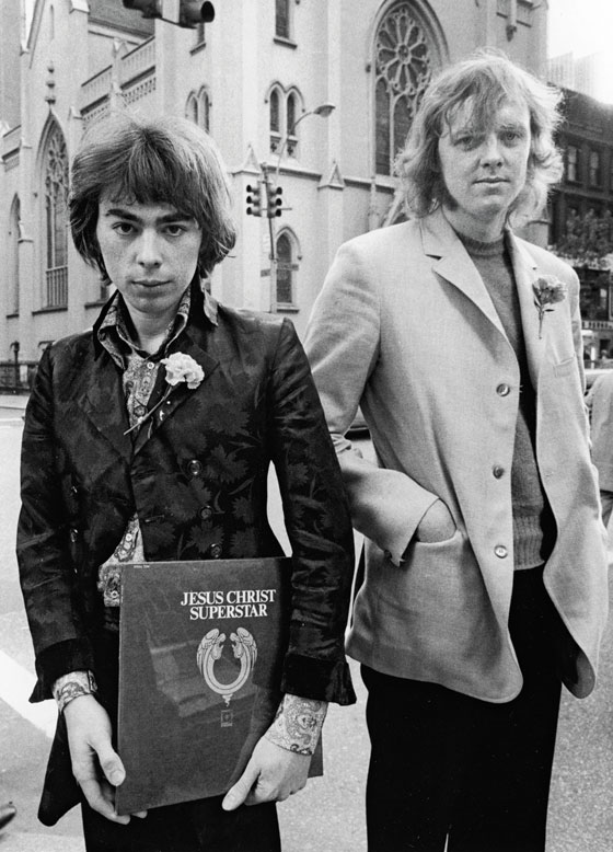 Эндрю Ллойд Уэббер и Тим Райс, 1970 г.