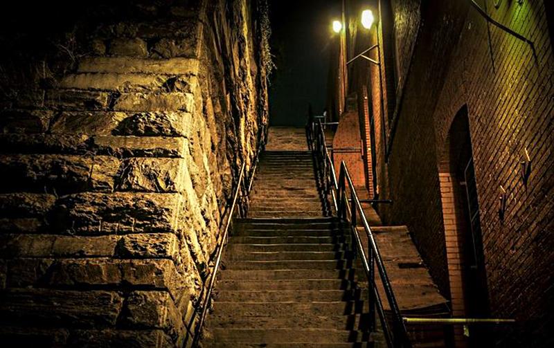 «Лестница экзорциста» в Джорджтауне