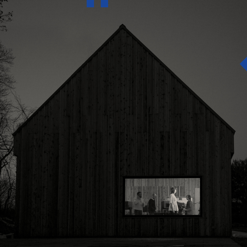 "Обложка альбома The National ""Sleep Well Beast"""