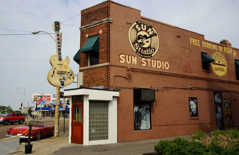 Здание студии Sun, Мемфис