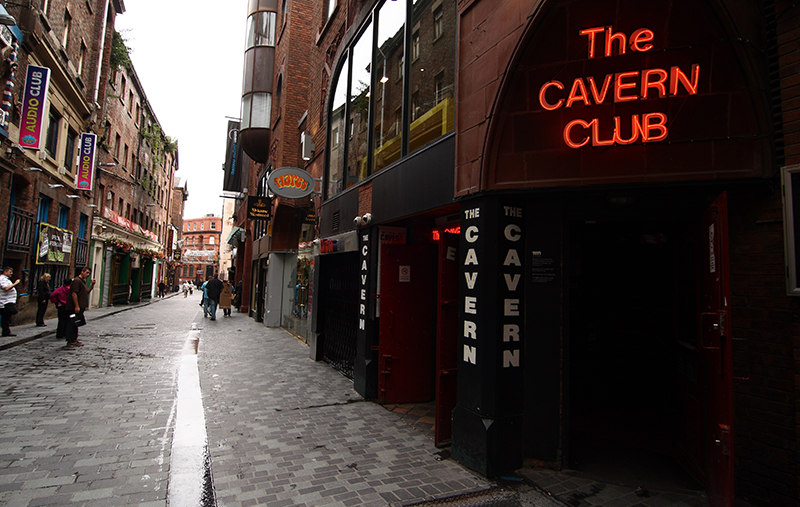 "Клуб ""Cavern"" на Мэттью Стрит. Фото: baseservicedapartments.co.uk"