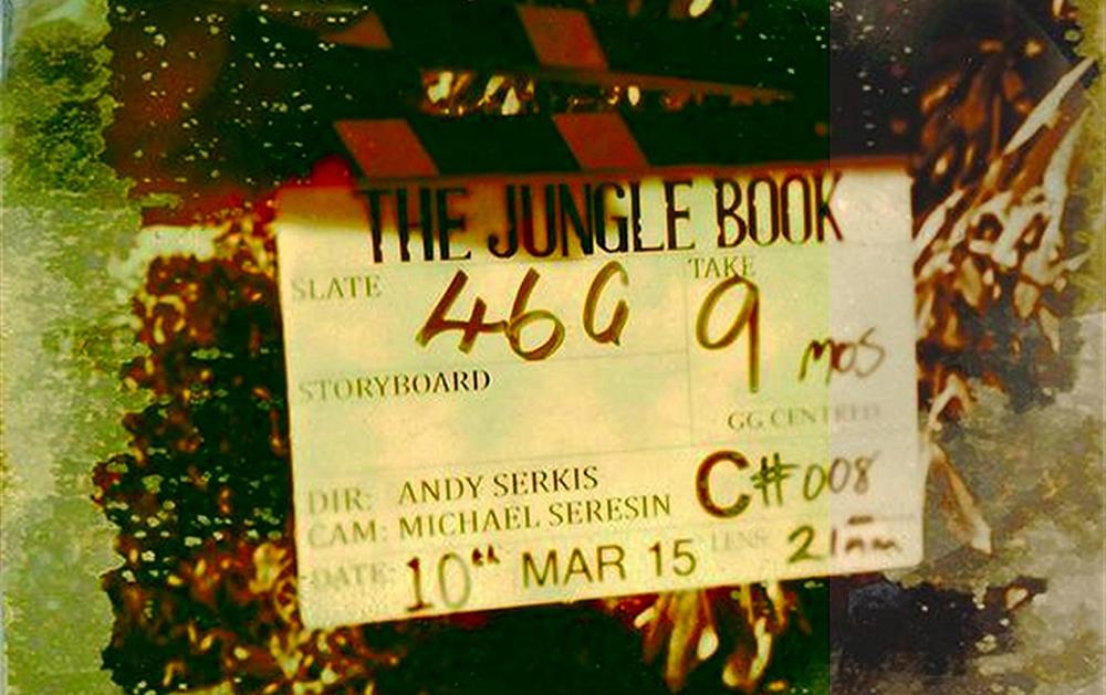 Кадр со съемок фильма «Маугли»