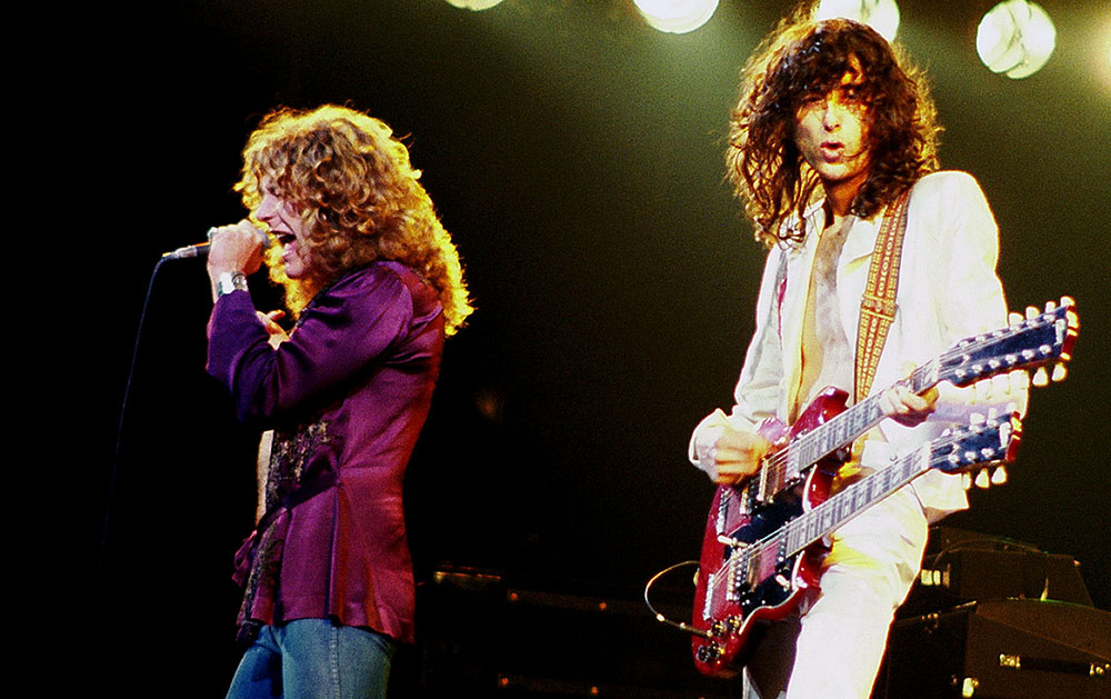 Led Zeppelin, 1977 год/ Фото: Jim Summaria