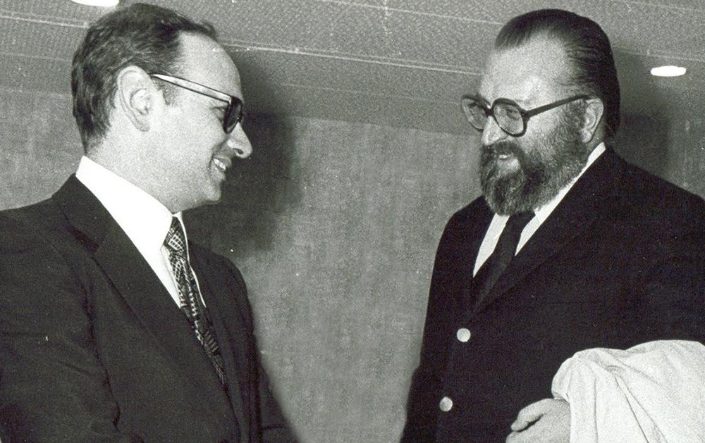 Эннио Морриконе и Серджио Леоне