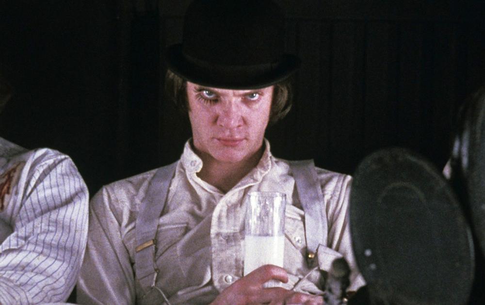 Кадр из фильма «Заводной апельсин»