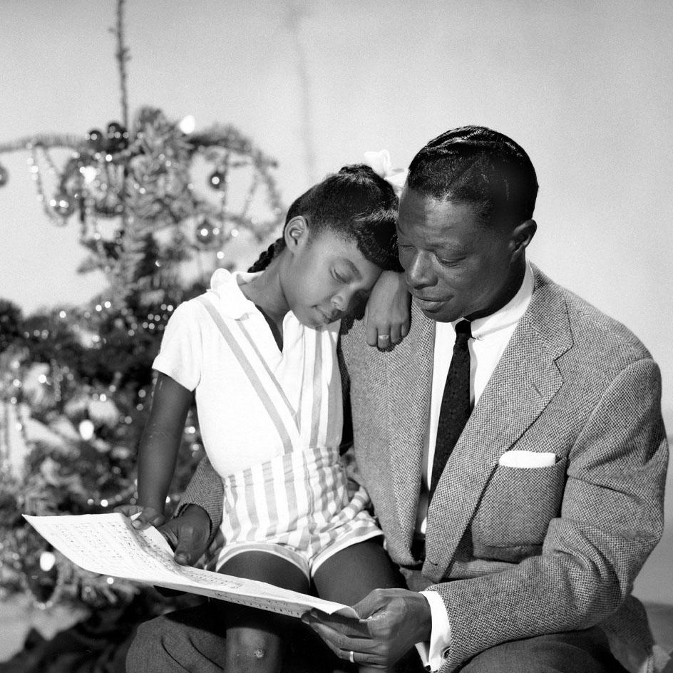 Нэт Коул с дочерью Натали, 1960 год