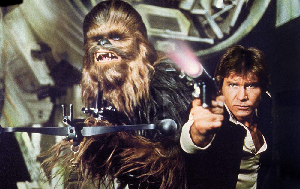 Кадр из фильма «Звездные войны. Эпизод IV: Новая надежда»