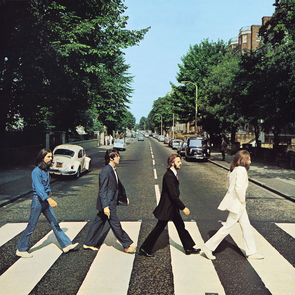Обложка альбома The Beatles «Abbey Road»